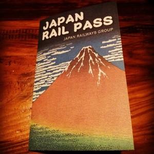 Le précieux JR Pass. Au Japon, tout est toujours joli.