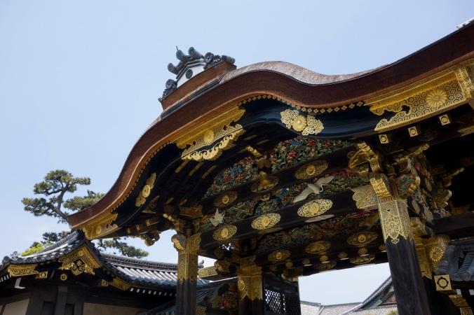 Porte du château de Nijo