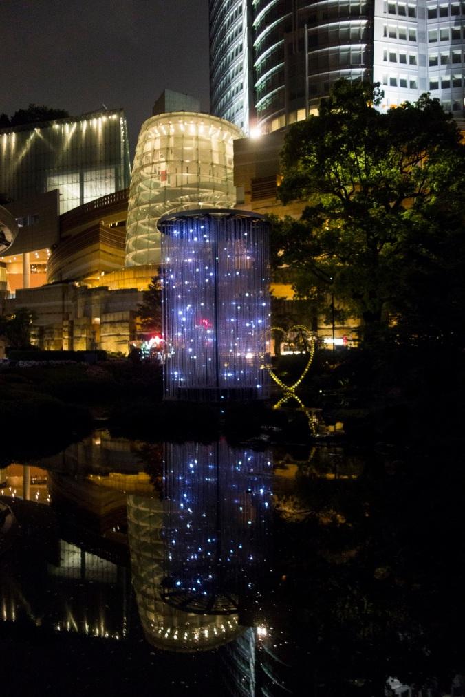 Jeux de lumière à Roppongi