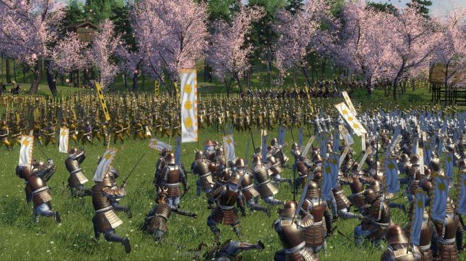 Une bataille sous les cerisiers