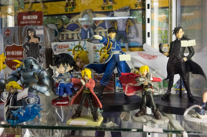 Quelques figurines. Le paradis du fan.