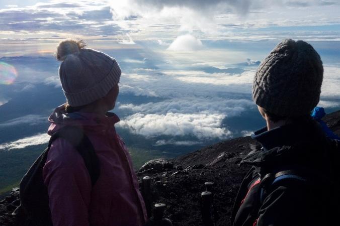 Spoiler alerte : la vue du sommet.